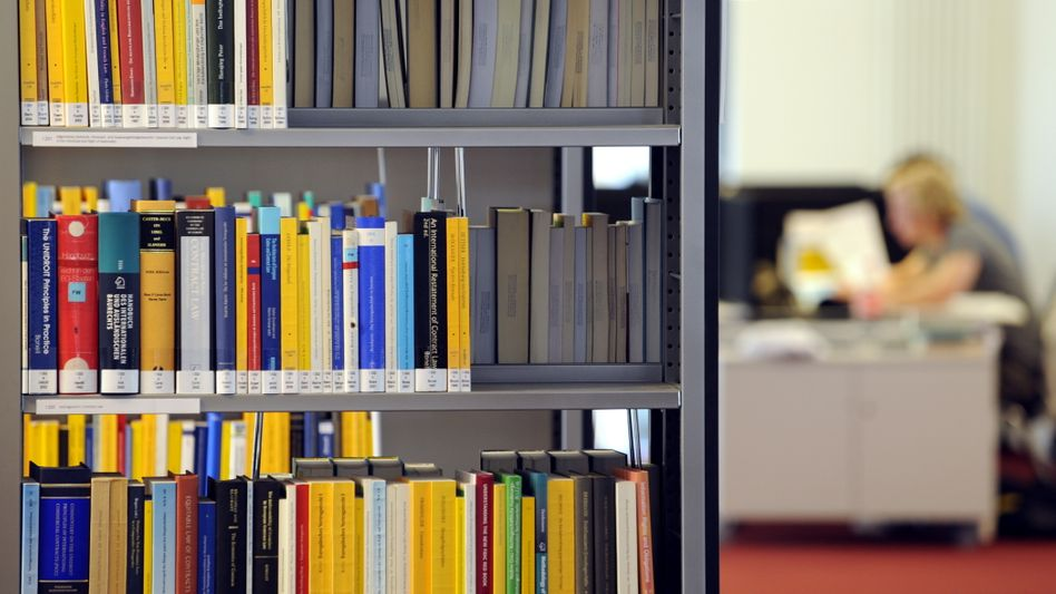 Bibliothek (Symbolbild)