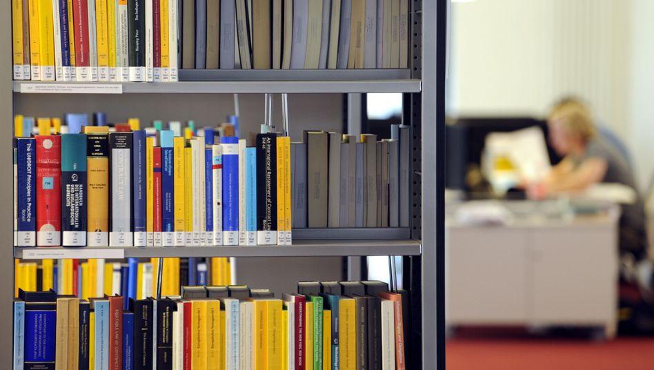 Wissenschaftliche Bibliothek: Überholspur für Forscher?