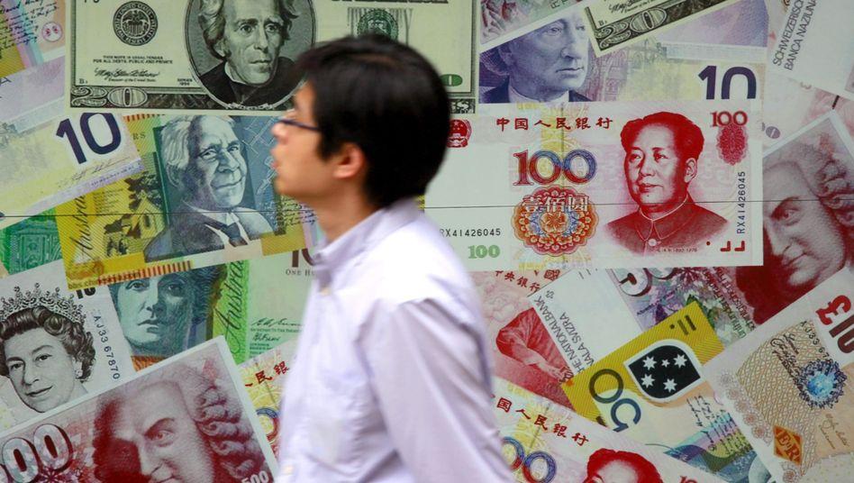 Passant in Hongkong: Steht das Weltwährungssystem vor einer Revolution?