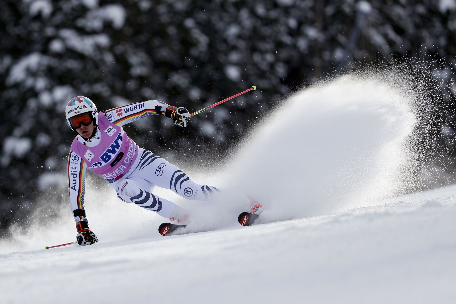 WCUP Mens Giant Slalom Skiing