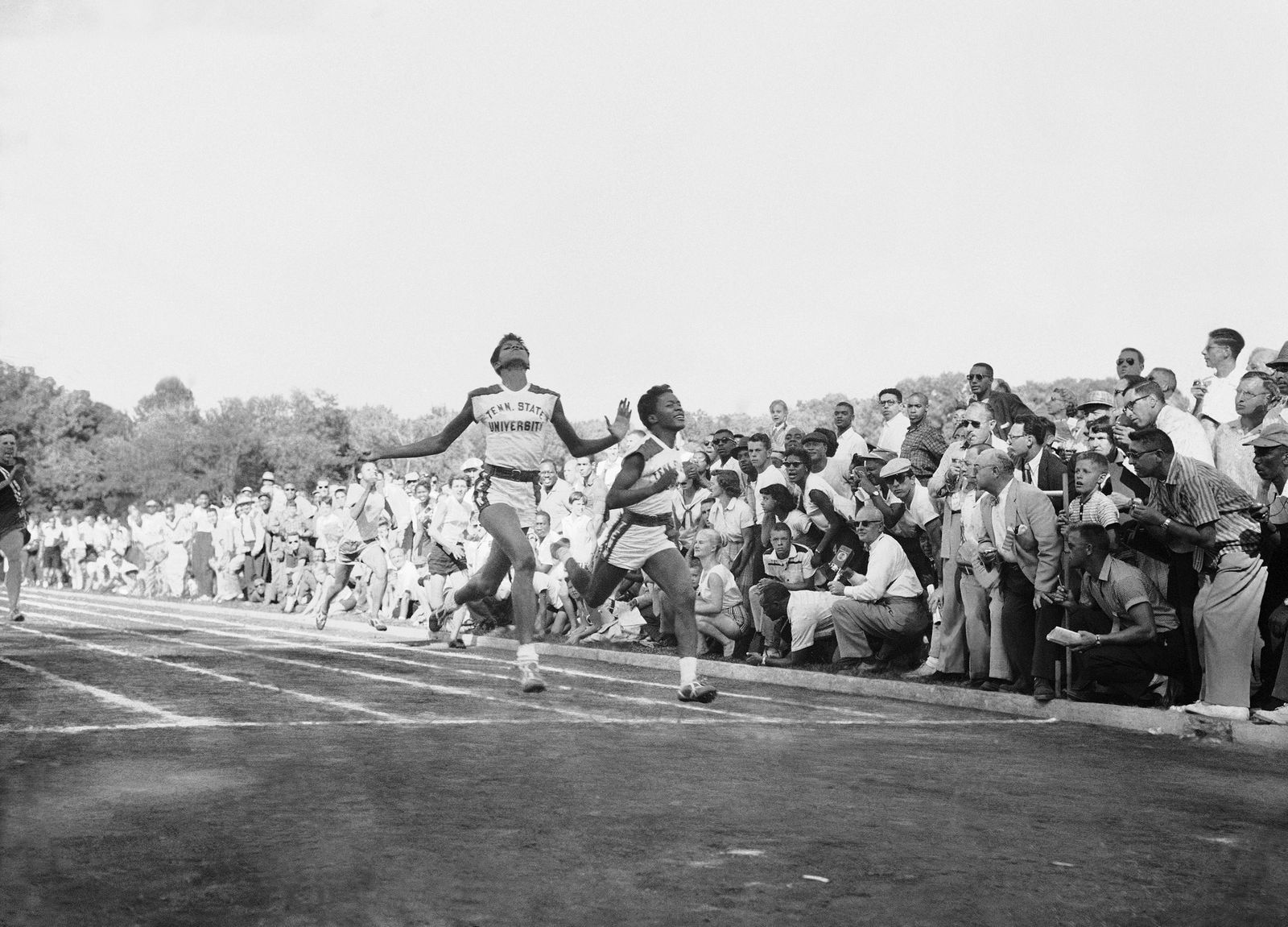 Olympic Womens Trials Faggs Rudolph 1956