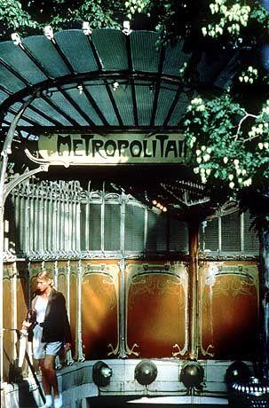 Metro-Eingang in Paris