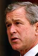 Noch Gouverneur von Texas: George W. Bush