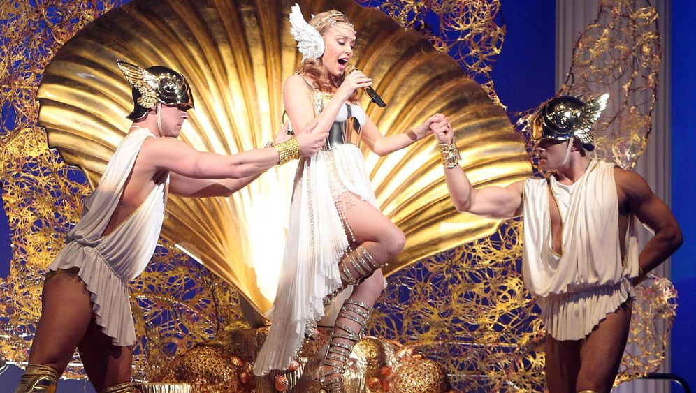Kylie in Hamburg: Meine Göttin, ist die goldig!