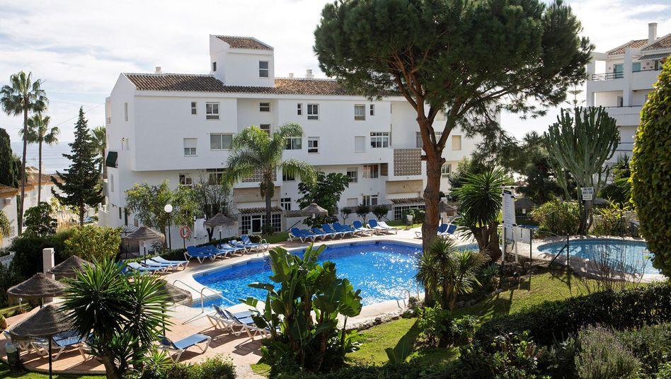 Unglückort im andalusischen Hotel