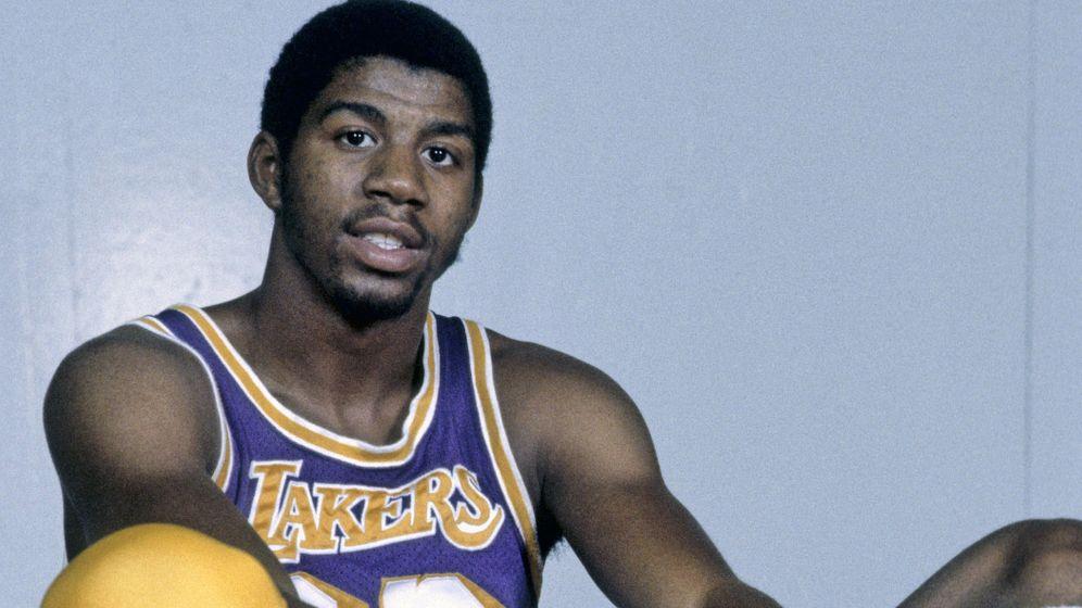 """Earvin """"Magic"""" Johnson: Magische Momente des Basketball"""