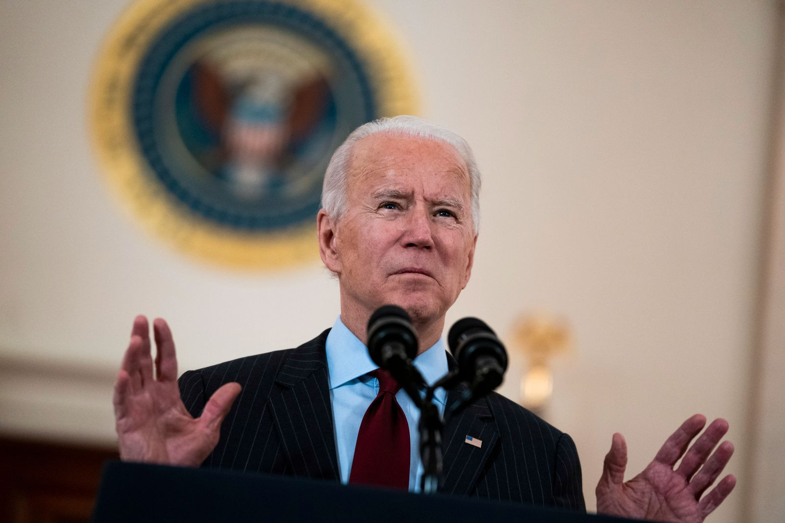 Biden delivers remarks on the lives lost to COVID-19