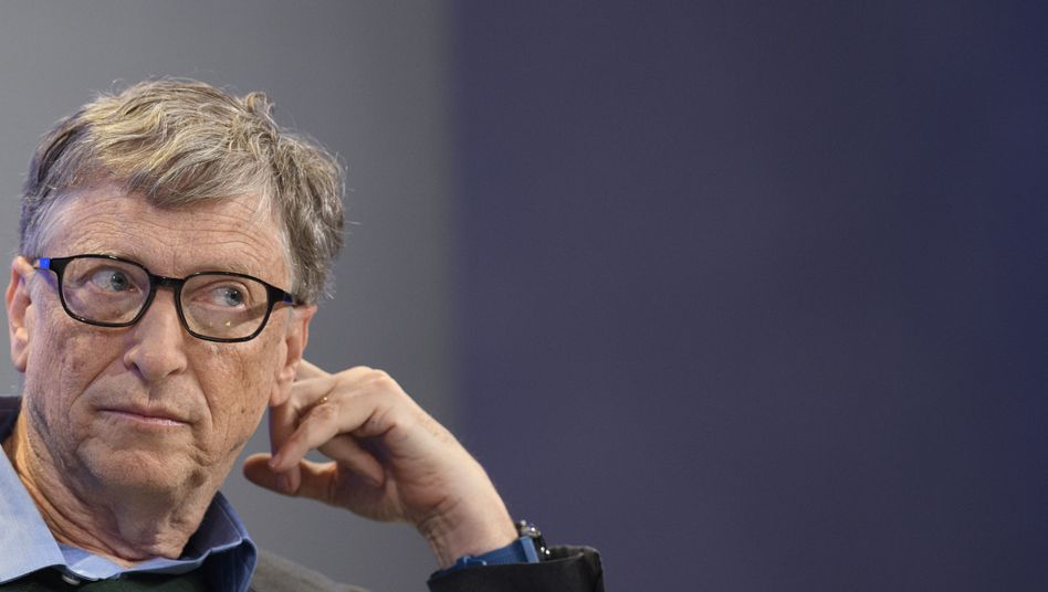 Microsoft-Gründer Bill Gates: spendet nun insgesamt 250 Millionen Dollar aus der gemeinsamen Stiftung mit Ehefrau Melinda