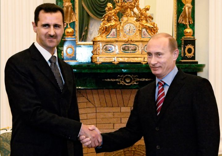 Kriegsverbrecher Assad und Putin: Die Gewalt langsam gesteigert