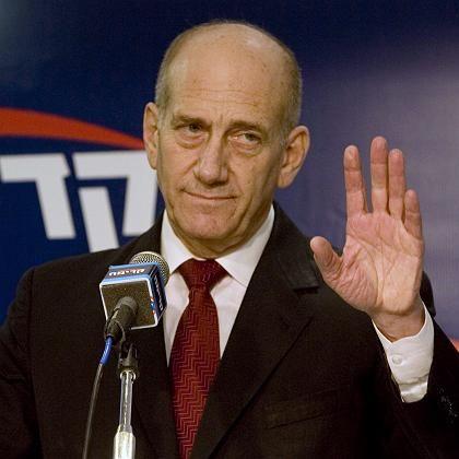 Israels Ministerpräsident Olmert: Innenpolitisch unter Druck