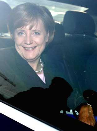 Merkel (nach Sondierungsgespräch): Auf dem Weg ins Kanzleramt