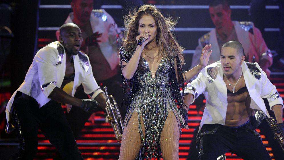 Lopez-Konzert: Tränen auf der Bühne