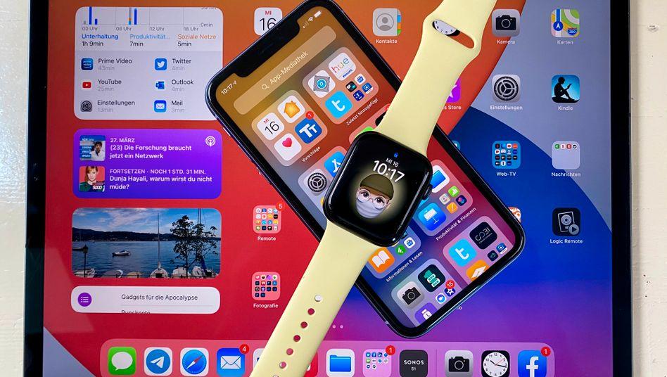 Apples neue Betriebssysteme: iPadOS 14, iOS 14 und watchOS 7