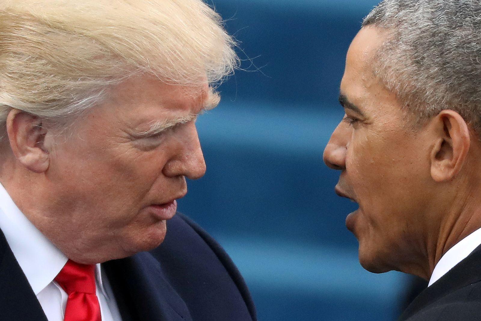 USA-TRUMP/OBAMA