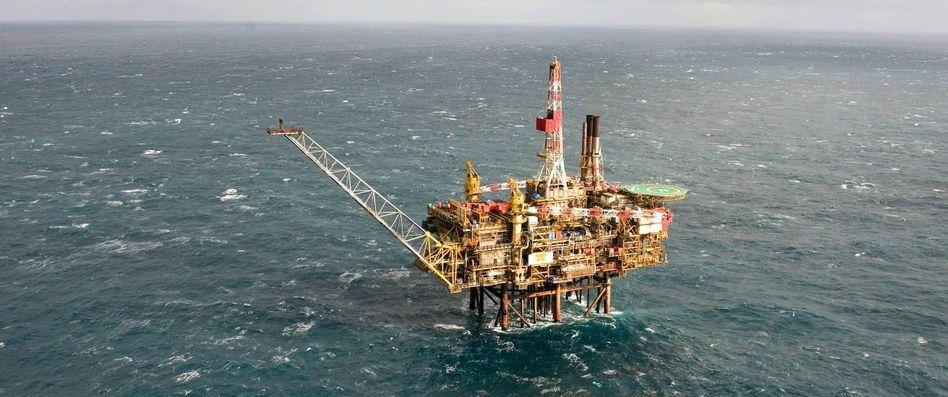 Shell-Förderplattform »Gannet Alpha« vor der schottischen Küste