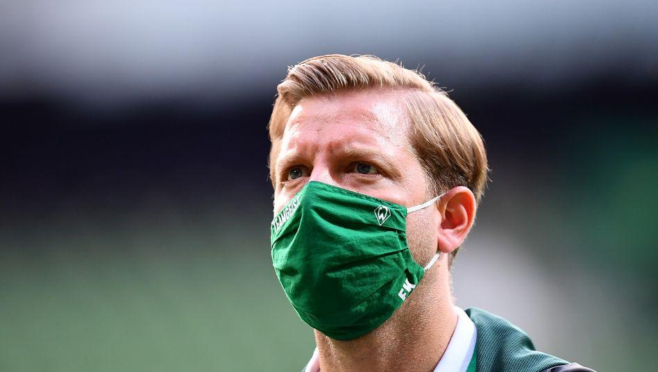 Werder-Trainer Florian Kohfeldt: Offensivpower geopfert