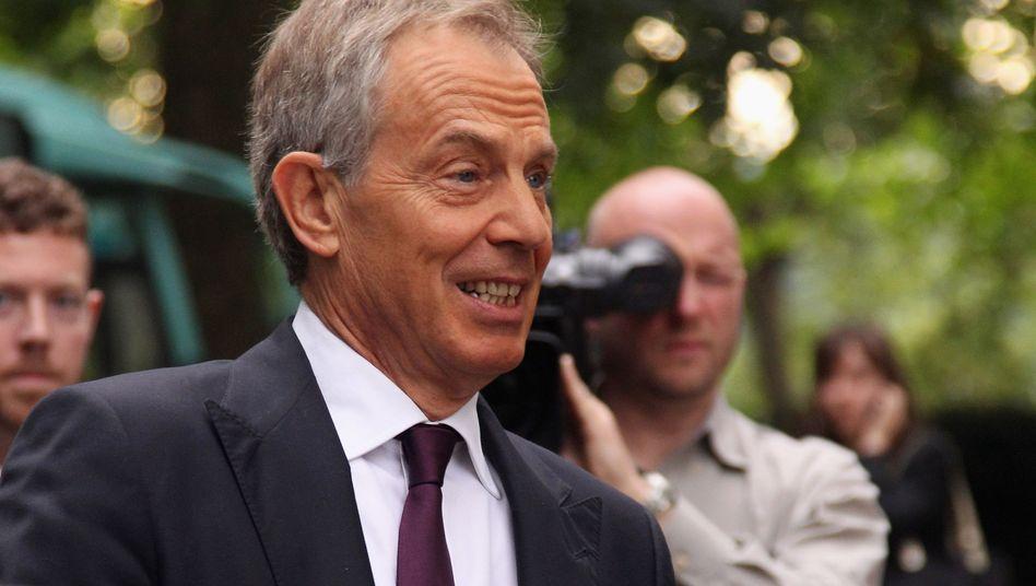 """Früherer Premier Blair: """"Ein netter Abend für Freunde und Familie"""" ist dahin"""