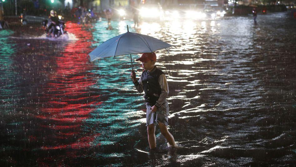 Überschwemmung in Manila