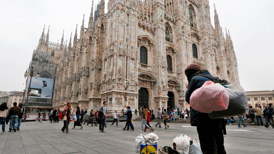 Obdachloser in Mailand (Archivbild)