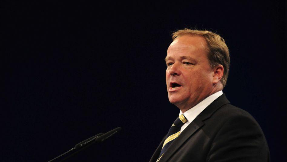 Minister Niebel: Keine Chance für Steuer auf Finanztransaktionen