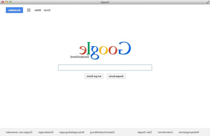 Screenshot von Com.google: Nette Idee, aber es fehlen Funktionen