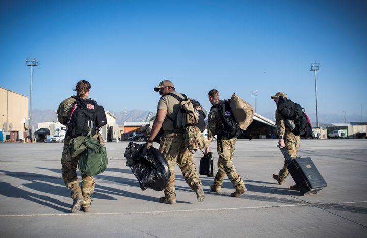 US-Soldaten auf Stützpunkt in Afghanistan: Entscheidender Faktor im Kampf gegen die Taliban