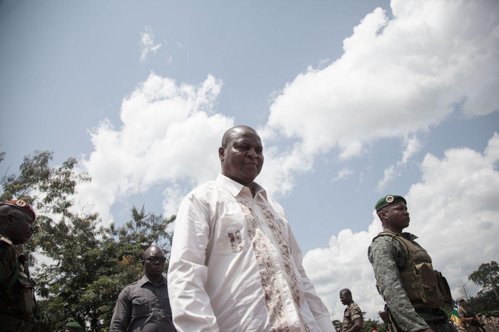 Touadera CAR ZAR Zentralafrikanische Republik