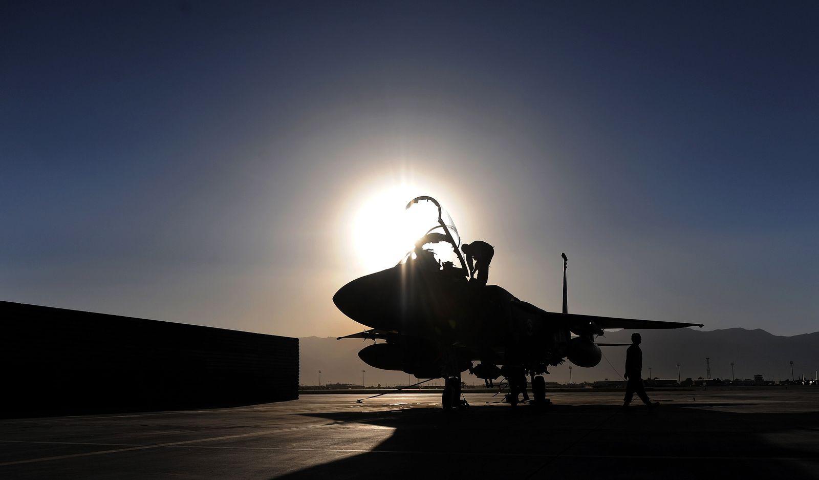 F-15E Strike Eagle fighter