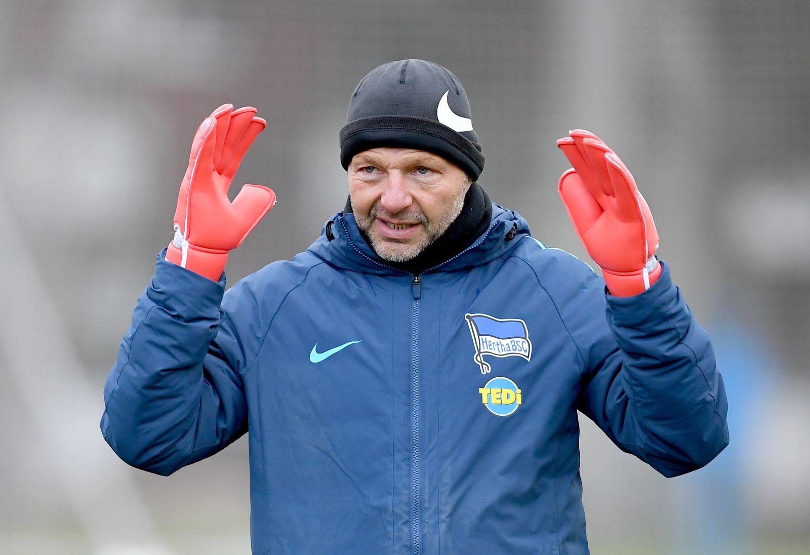 Hertha BSC - Torwarttrainer Zsolt Petry