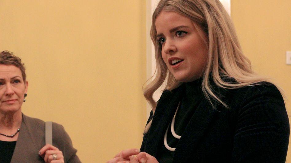 Áslaug Arna Sigurbjörnsdóttir, Abgeordnete der liberal-konservativen Unabhängigkeitspartei