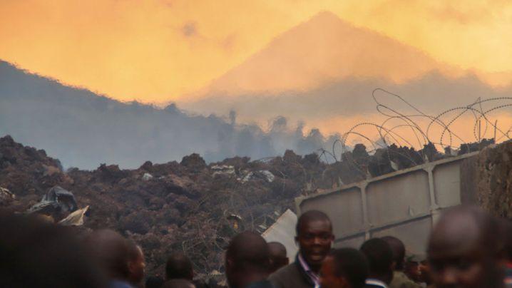 Der Ausbruch des Mount Nyiragongo