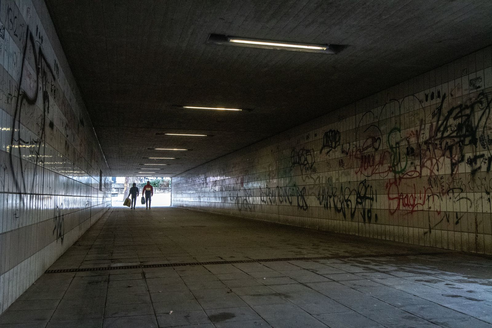 Amberg Bahnhof Passerelle