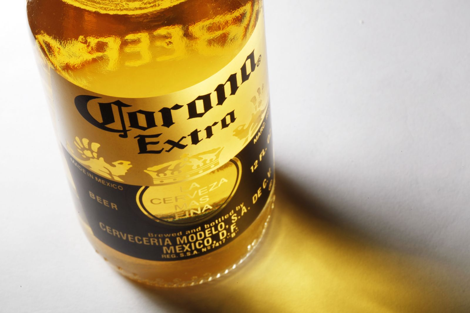 Corona-Flasche