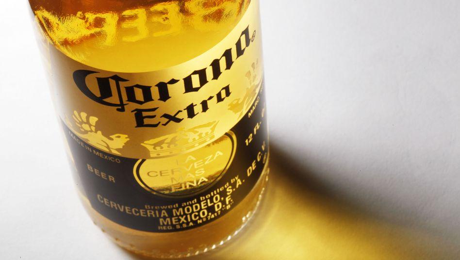 Auch Corona-Bier von Angst vor dem Coronavirus betroffen