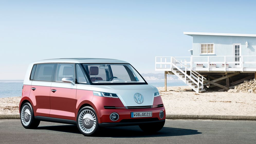 Neustart in Genf: Volkswagen stellt Bulli 2.0 vor