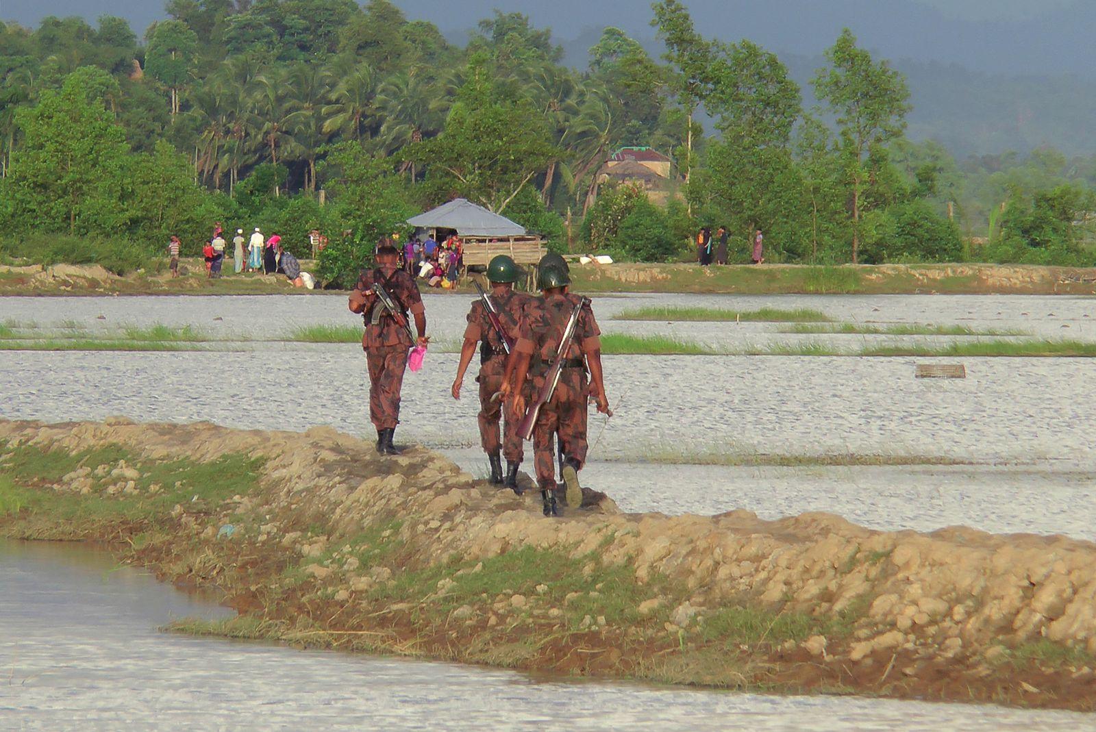 BANGLADESH-MYANMAR-REFUGEE-UNREST