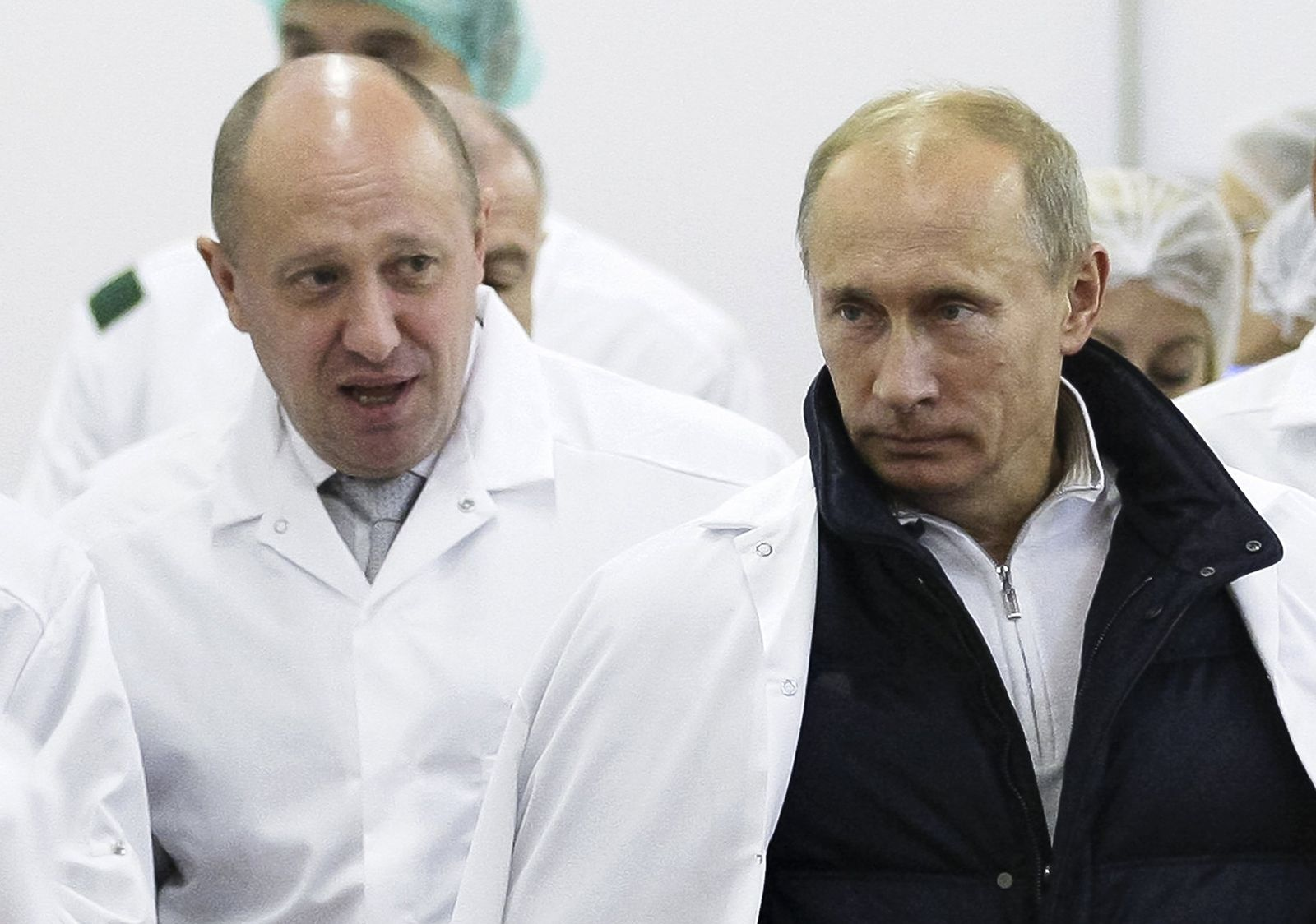 Jewgeni Prigoschin/ Yevgeny Prigozhin/ Putin/ Trump