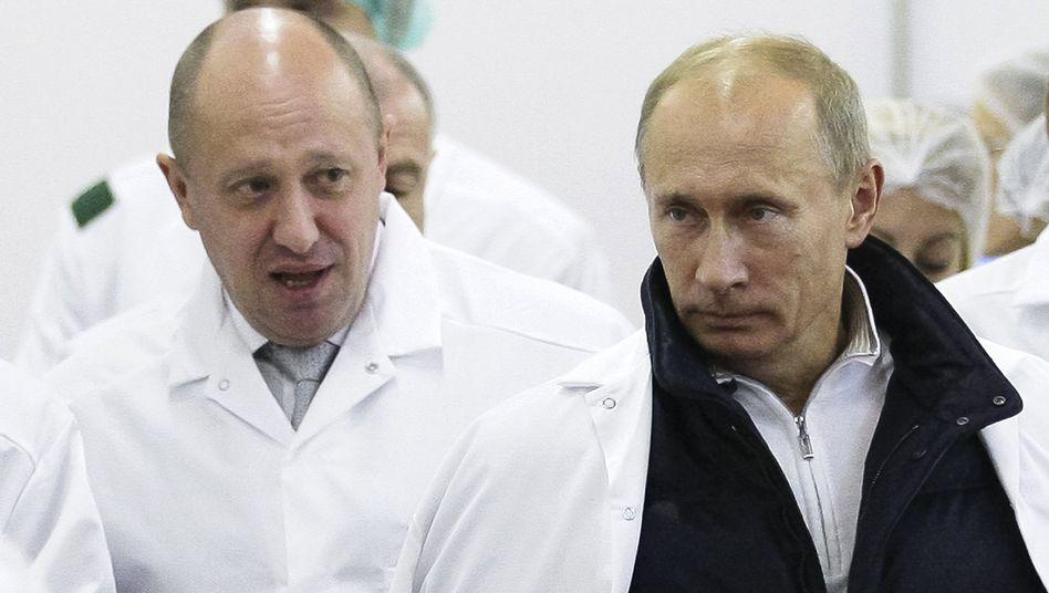 Prigoschin und Putin