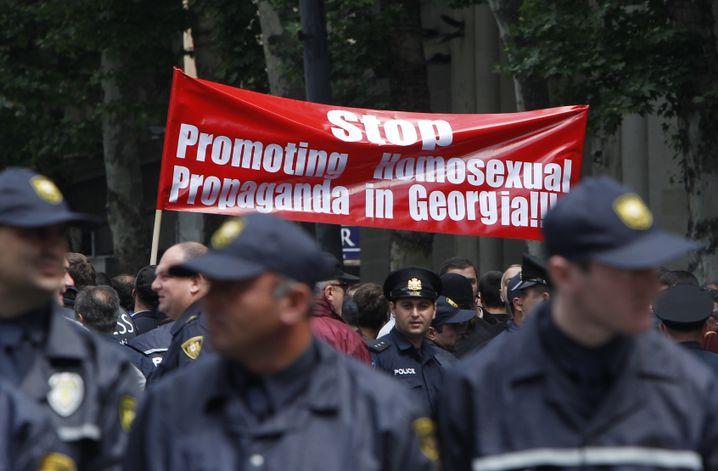 Schwulenfeindliche Proteste in Georgien: Nicht länger verstecken