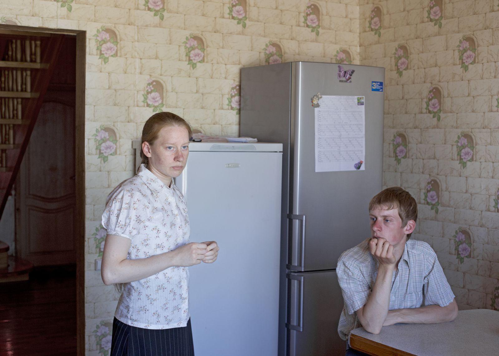 EINMALIGE VERWENDUNG Mennoniten / Russland / Petrovka