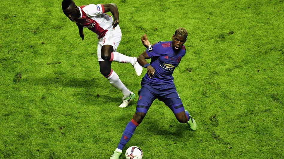 Manchester-United-Spieler Pogba (r.): »Einen Hype um den zukünftigen Transfer entfachen«