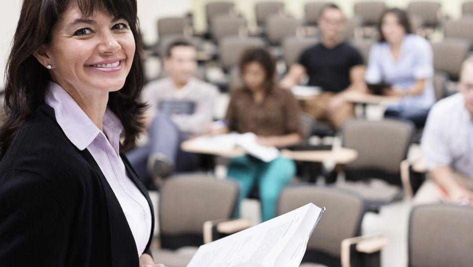 Gute Chancen auf eine Professur: In einem US-Experiment hatten Frauen die besseren Karten