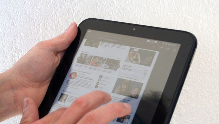 Das webOS-Tablet: HP Touchpad