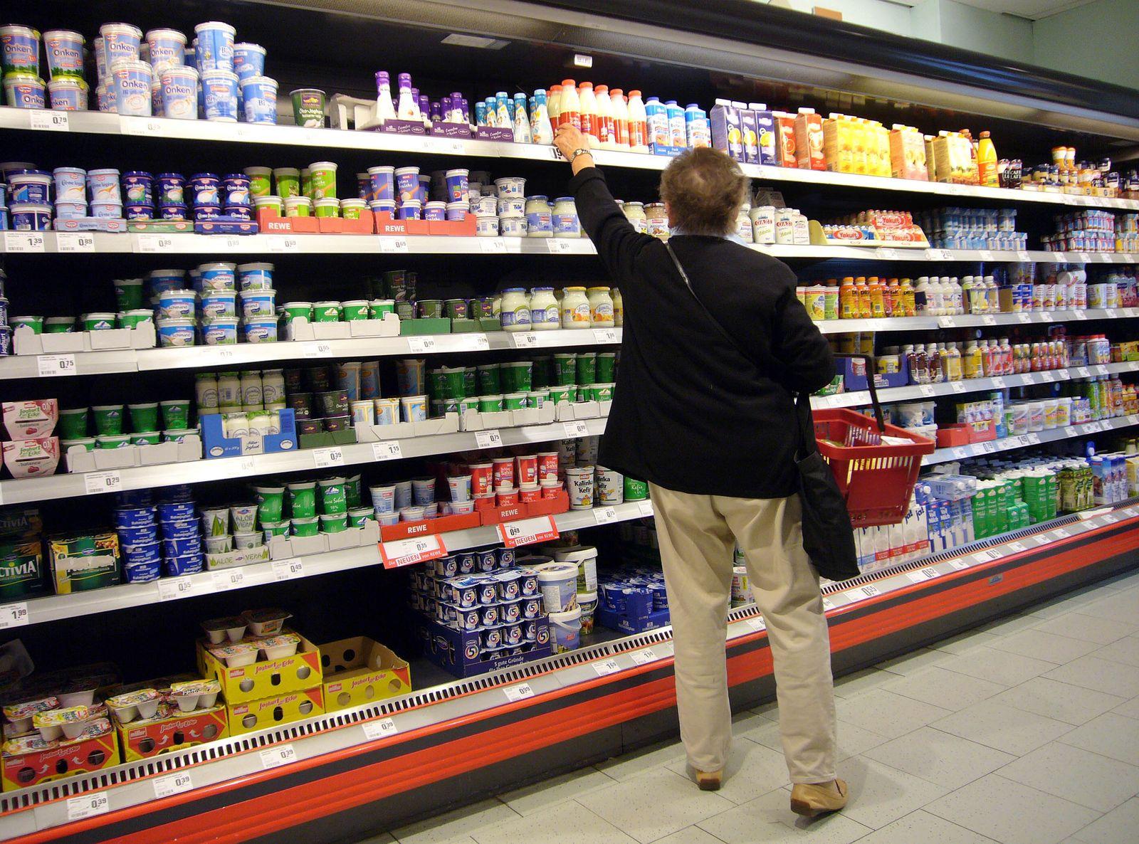Verbraucherpreise / Supermarkt