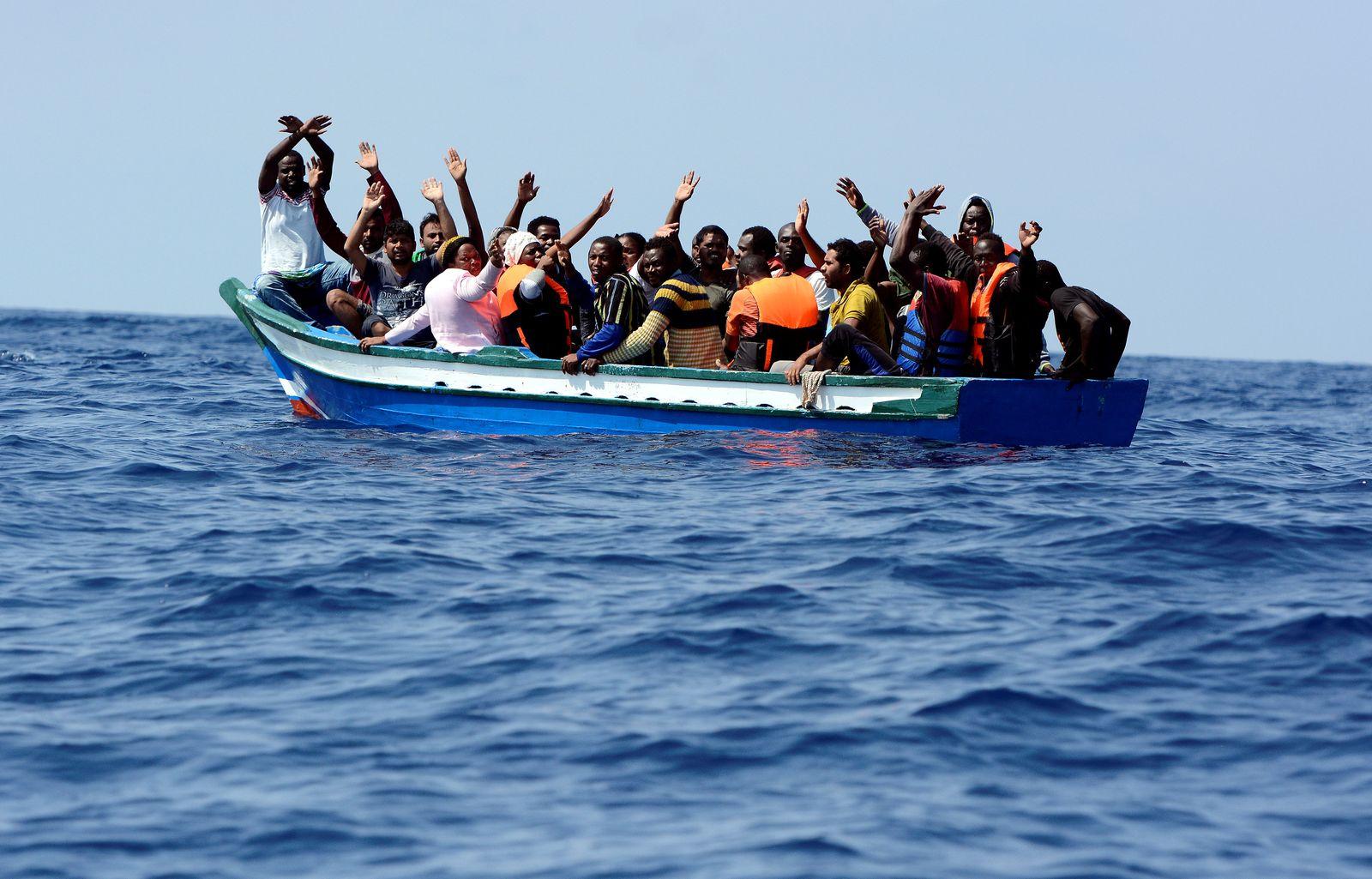 Migranten Mittelmeer