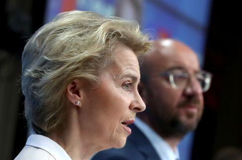 Ursula von der Leyen und Charles Michel. Heute findet das EU-China-Gipfelgespräch statt