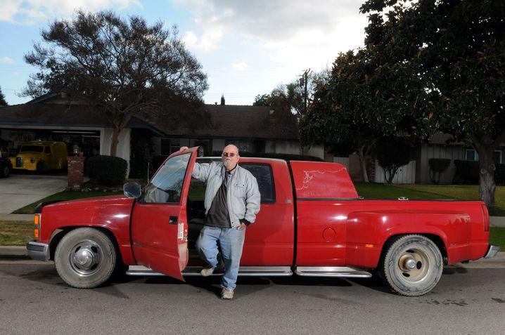 """Jack Masson, 70: """"Mein Pick-up ist wie ein alter Freund"""""""