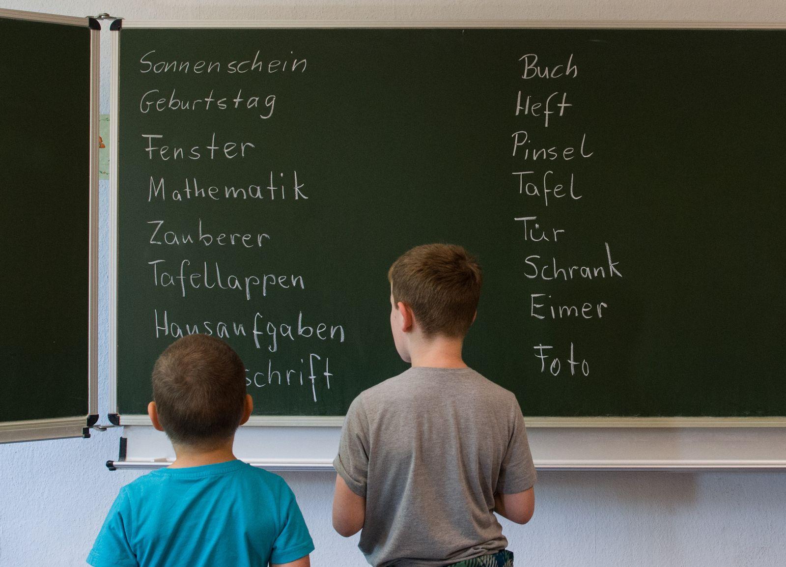 Schüler an Gundschule