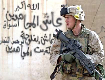 """US-Soldat im Einsatz: """"Wir stehen vor einer Katastrophe"""""""