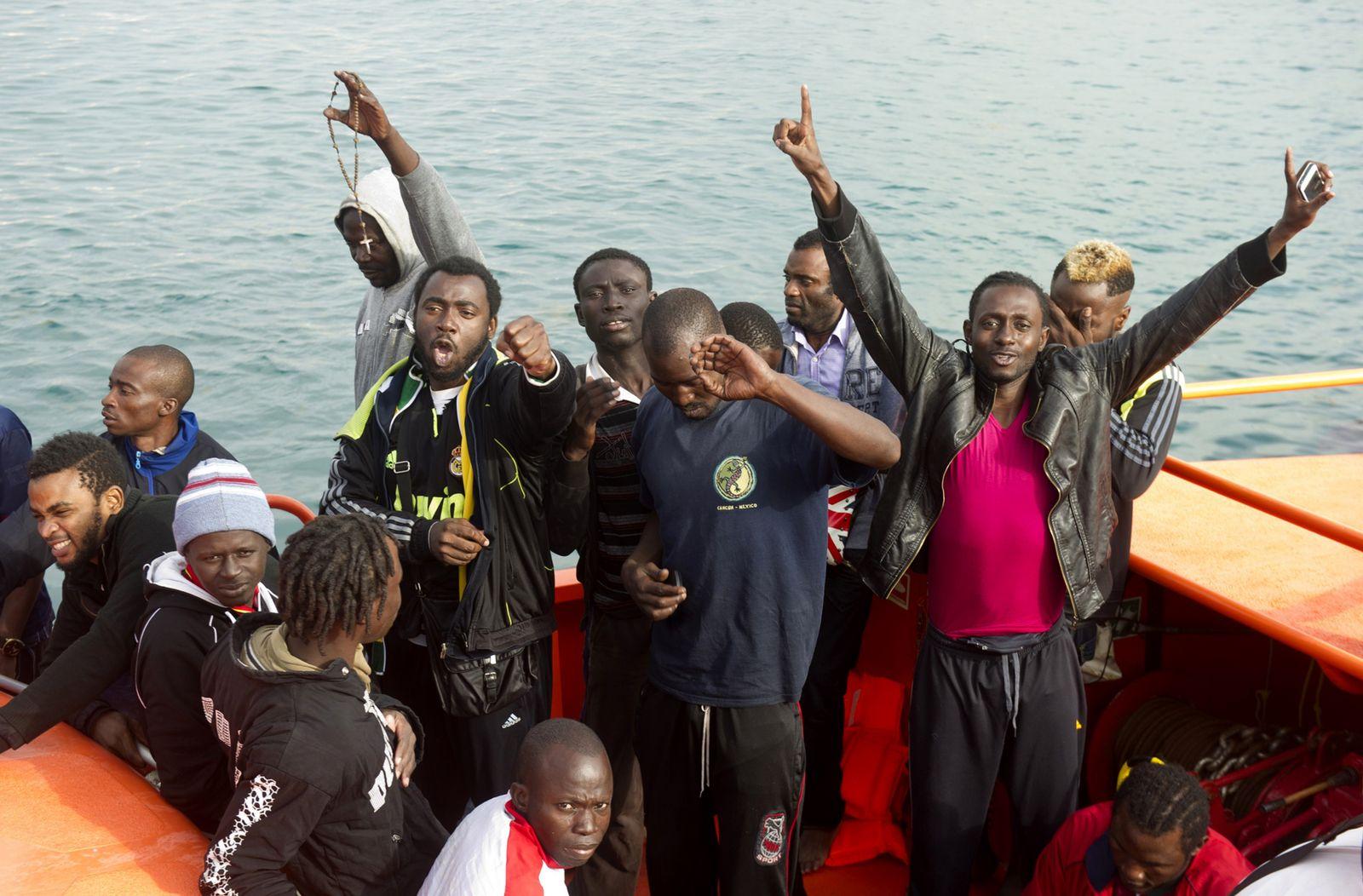 Afrikanische Migranten in Spanien